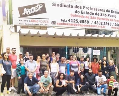 """""""Ser Professor e não lutar é uma contradição pedagógica"""" Paulo Freire"""