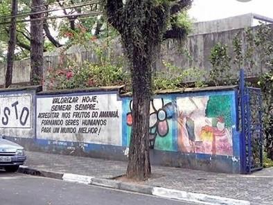ALUNOS/AS E COMUNIDADE DA ESCOLA  FAUSTO RETOMAM A LUTA  CONTRA  IMPLANTAÇÃO  DO PEI