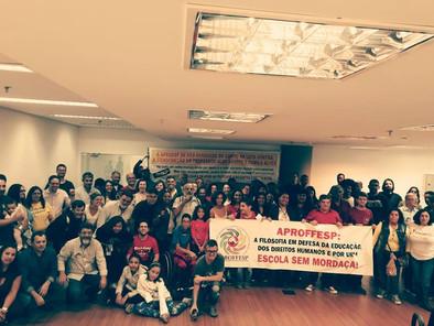 Lançamento  da Campanha Nacional:Anistia ao Professor Aldo dos Santos e Camila Alves!