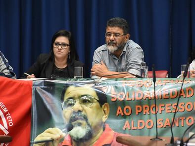 Anistia ao professor Aldo dos Santos e Camila Alves!