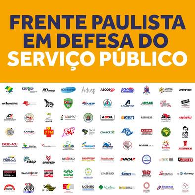 Moção Frente Paulista em Defesa do Serviço Público, da Educação e da Vida