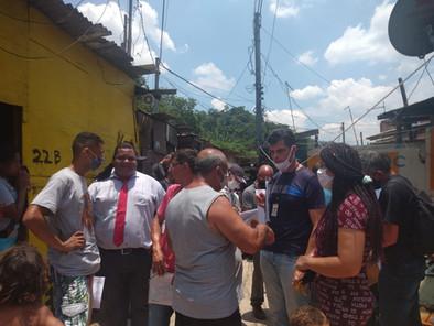 Reintegração de posse de famílias na Lulaldo foi adiada.