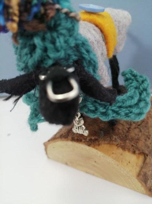 Dogs in Togs Teal Woollen Hat