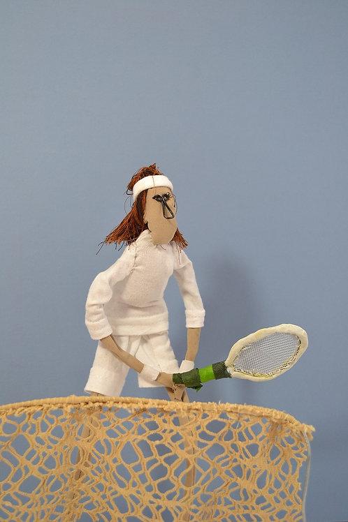 tennis player art