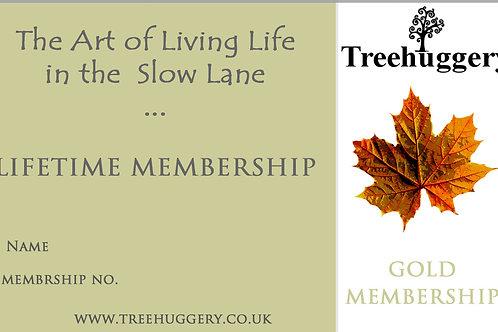 TreeHuggery Gold Membership Card