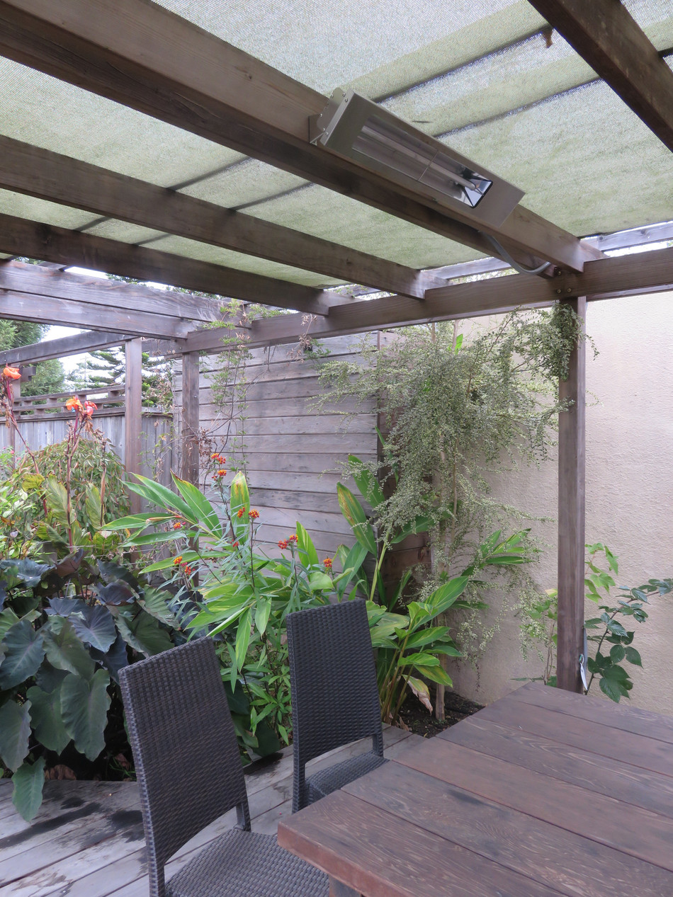 arbor beams with heating elements