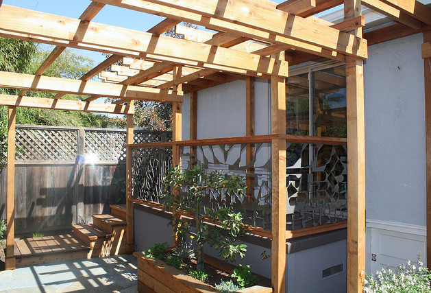 small space - out back