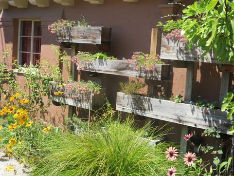 vertical garden detail