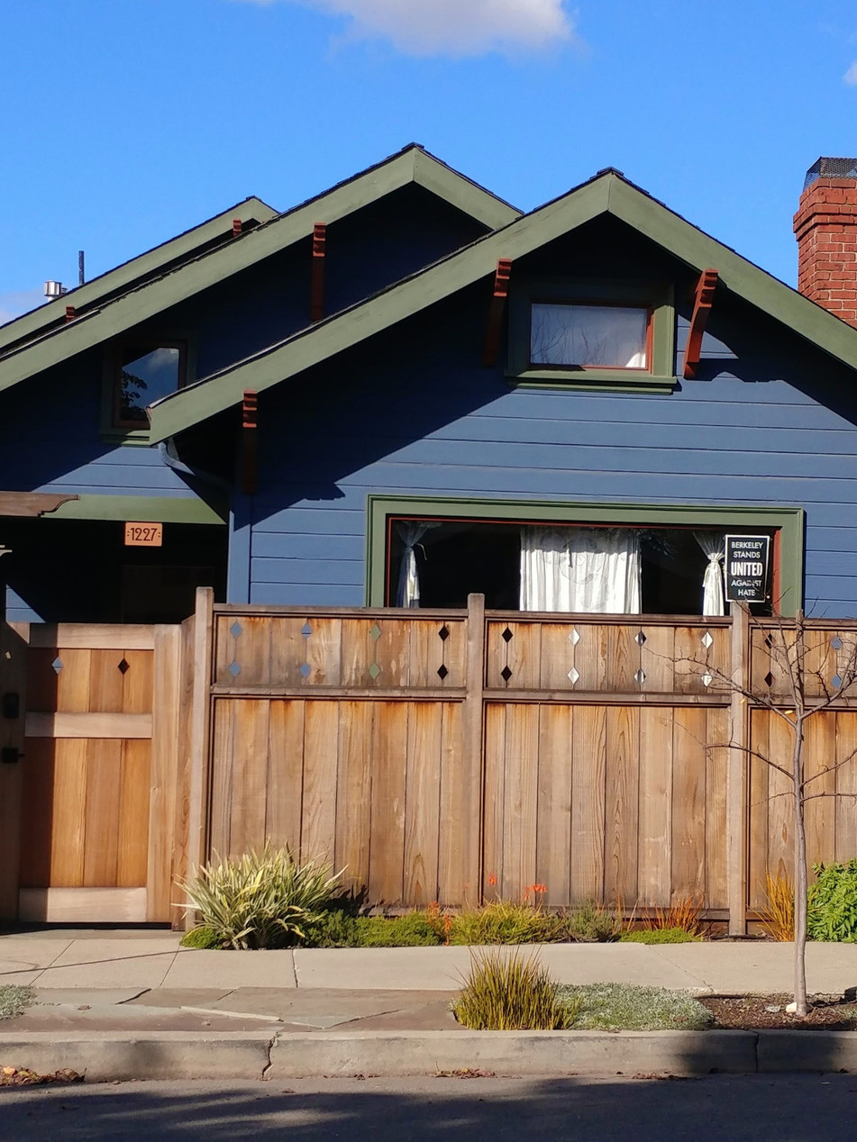 privacy and curb appeal, west berkeley