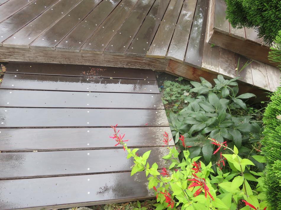 deck stair detail