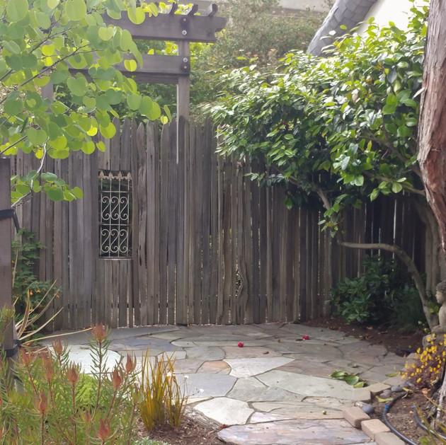 new old garden entry
