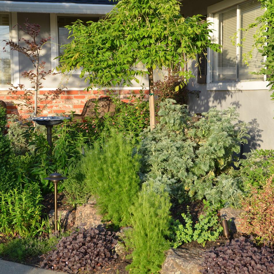 front door planting bed