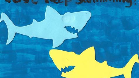 'Just keep swimming!'