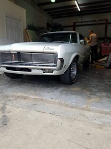 Late 60's Mercury Cougar