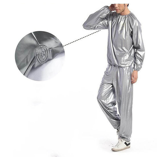 Sauna & Sweat Suits - Silver (no hood available)