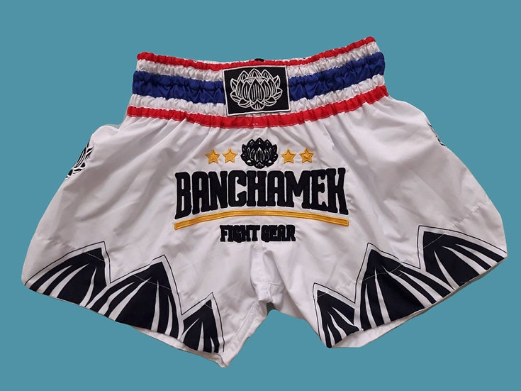 """""""Bangchamek"""" Style Muay Thai Sublimation Printed Shorts"""