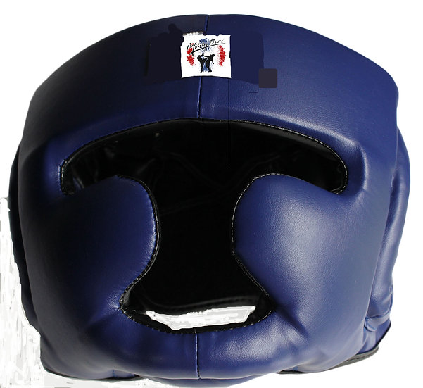 Pure Leather Head Guard (MTHG/PL/01)
