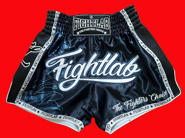 """""""Fight Lab"""" Style Muay Thai Sublimation Printed Shorts"""