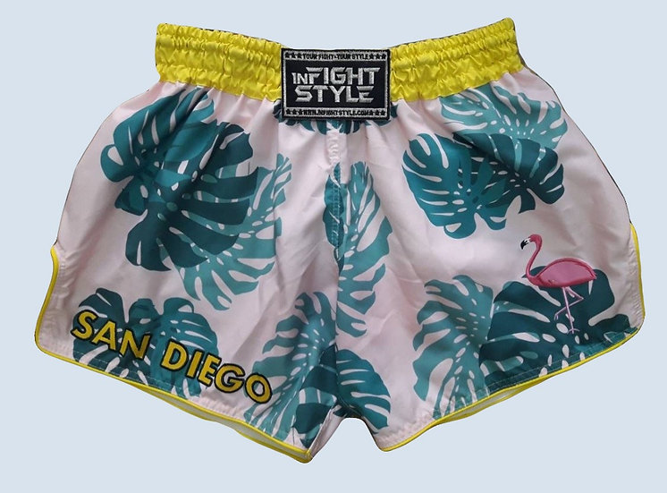 """Fight Style 2"" Style Muay Thai Sublimation Printed Shorts"