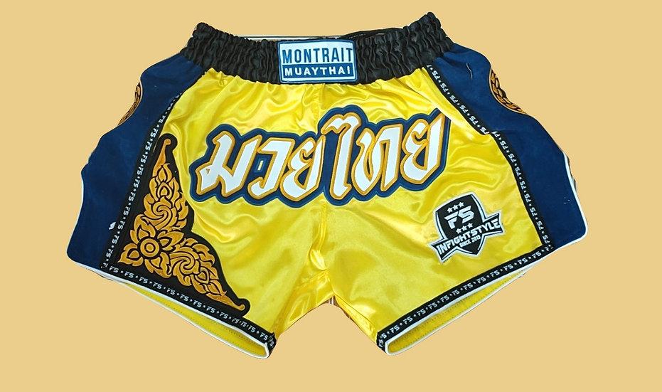 """Montrait"" Style Muay Thai Sublimation Printed Shorts"