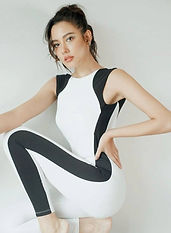 Black & White striped 1pc.JPG