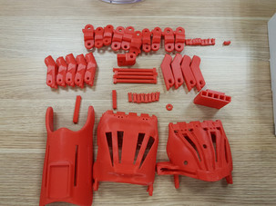 Phonix hand 2 printed parts at UOW taken by Mohammad Zoubai
