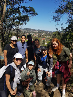 UOW Active Tribe Volunteering Mt Keira H