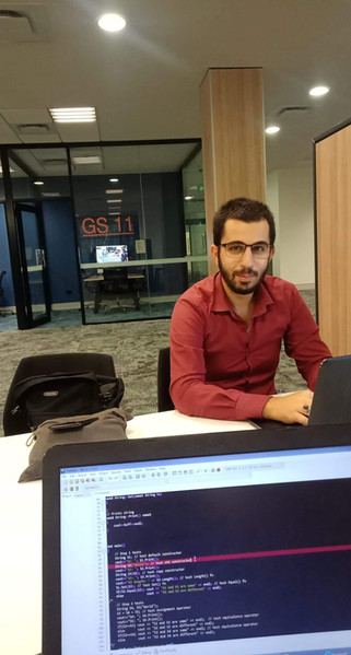 Mohammad Zoubai building his E-Commerce website
