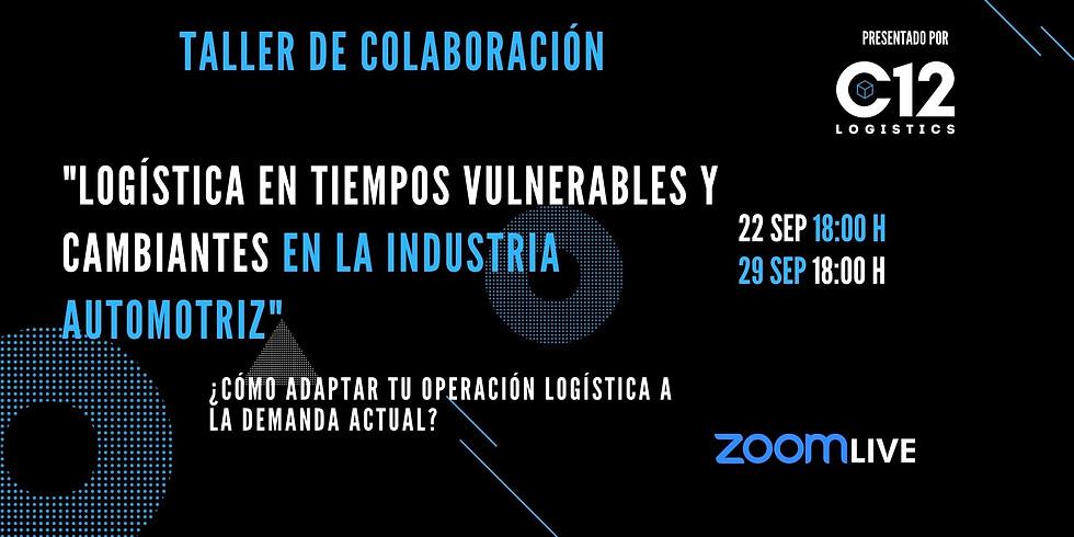 Colab Session: Logística en tiempos vulnerables y cambiantes Sesión 2