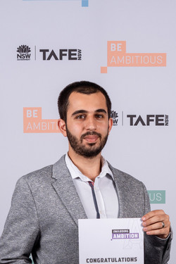 Mohammad Zoubai TAFE Graduation.jpg