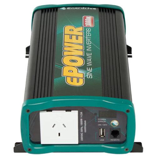 ePOWER 1000W True Sine Wave Inverter
