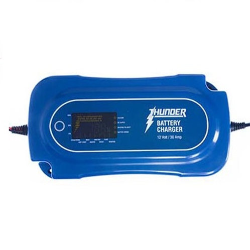 THUNDER TDR02130 30A 8 STAGE BATTERY CHARGER