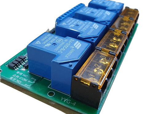 4 Way Relay Control Module