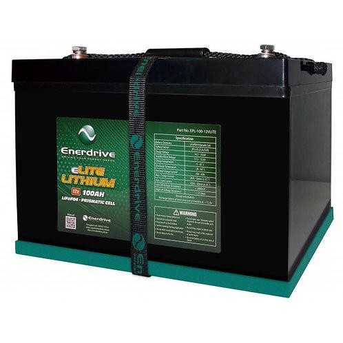 Enerdrive eLITE 12V 100Ah Lithium Battery
