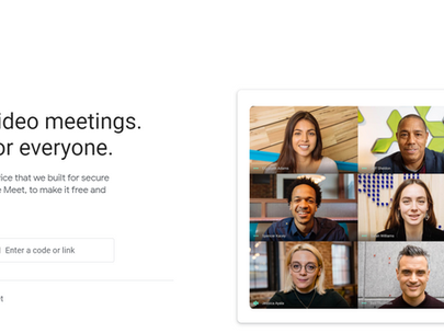 Google Meet to limit meetings to 60 minutes on free plans.