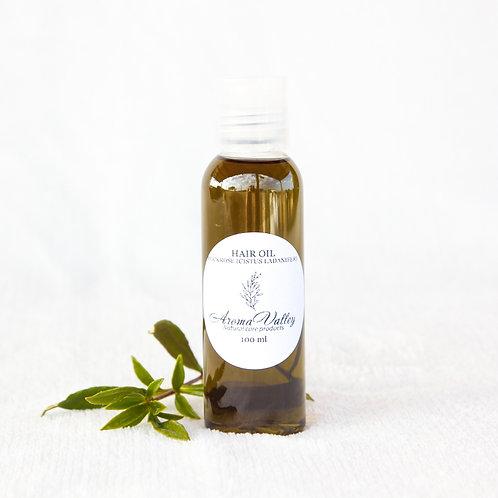 Cistus hair oil