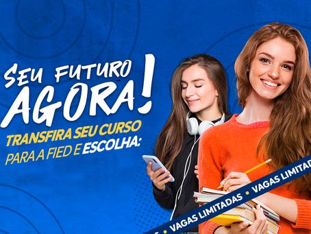Faculdade Ieducare (FIED) oferece inscrições gratuitas e condições especiais para transferência