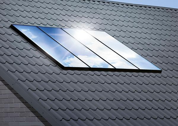 Sonnenkollektoren von Viessmann