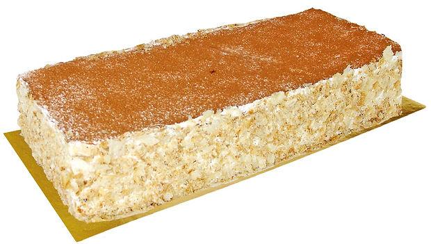 Tarta Milhojas con crema y canela