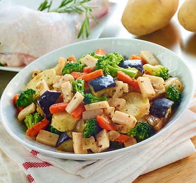 3225 Salteado de pollo con verduras