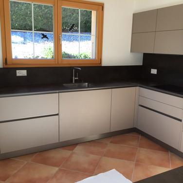 Rénovation crédence cuisine,  Valais Suisse