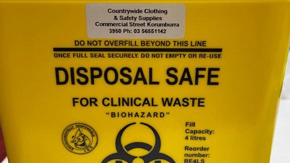 Disposal Safe (4Ltr)