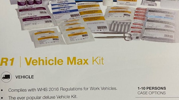 Vehicle Max First Aid Kit