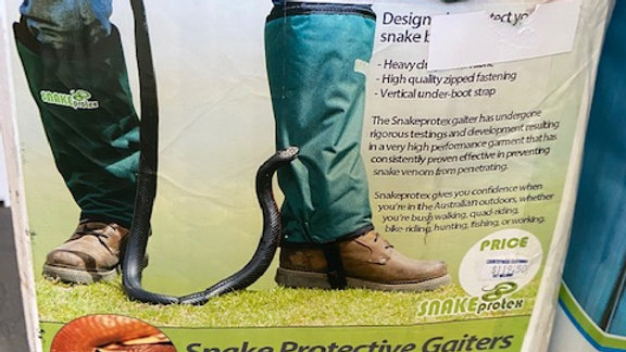 Snake Protective Gaiters