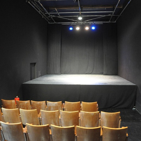 Theatersaal mit Bühne