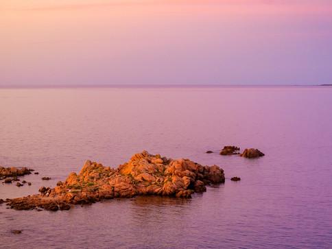 Sonnenuntergangsimpression  - Costa Smeralda