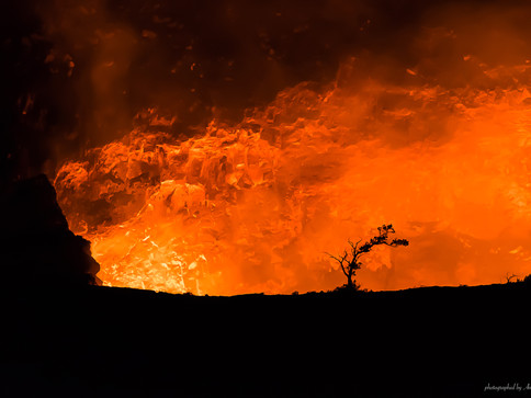 Vulkan Kilauea - Big Island