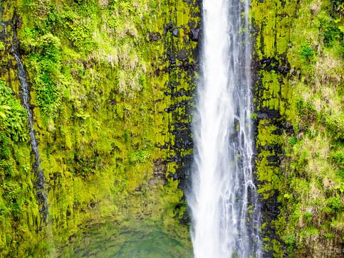 Wasserfall auf Big Island