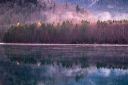 Herbstimpressionen am Sylvenstein