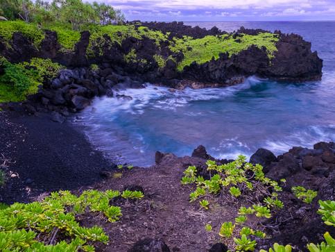 Black Beach - Maui